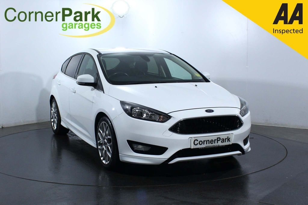 USED 2015 64 FORD FOCUS 1.5 ZETEC S TDCI 5d 118 BHP BLUETOOTH - HEATED WINDSCREEN