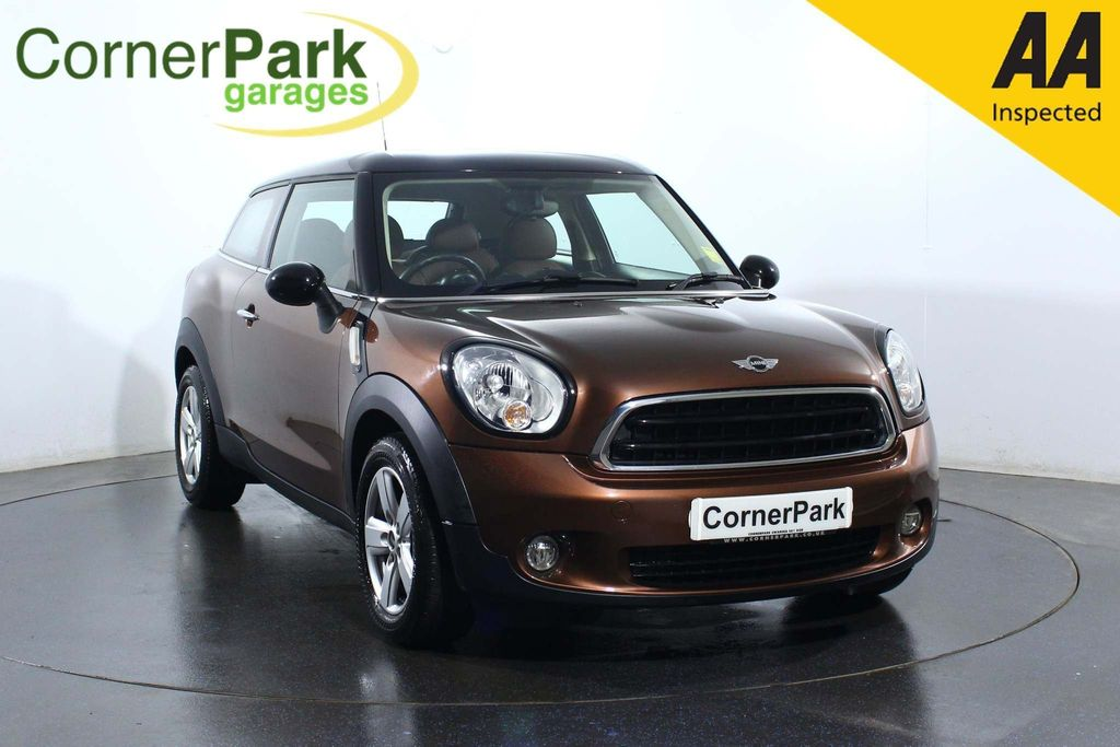 USED 2015 64 MINI PACEMAN 1.6 COOPER 3d 122 BHP PANORAMIC SUNROOF - LEATHER