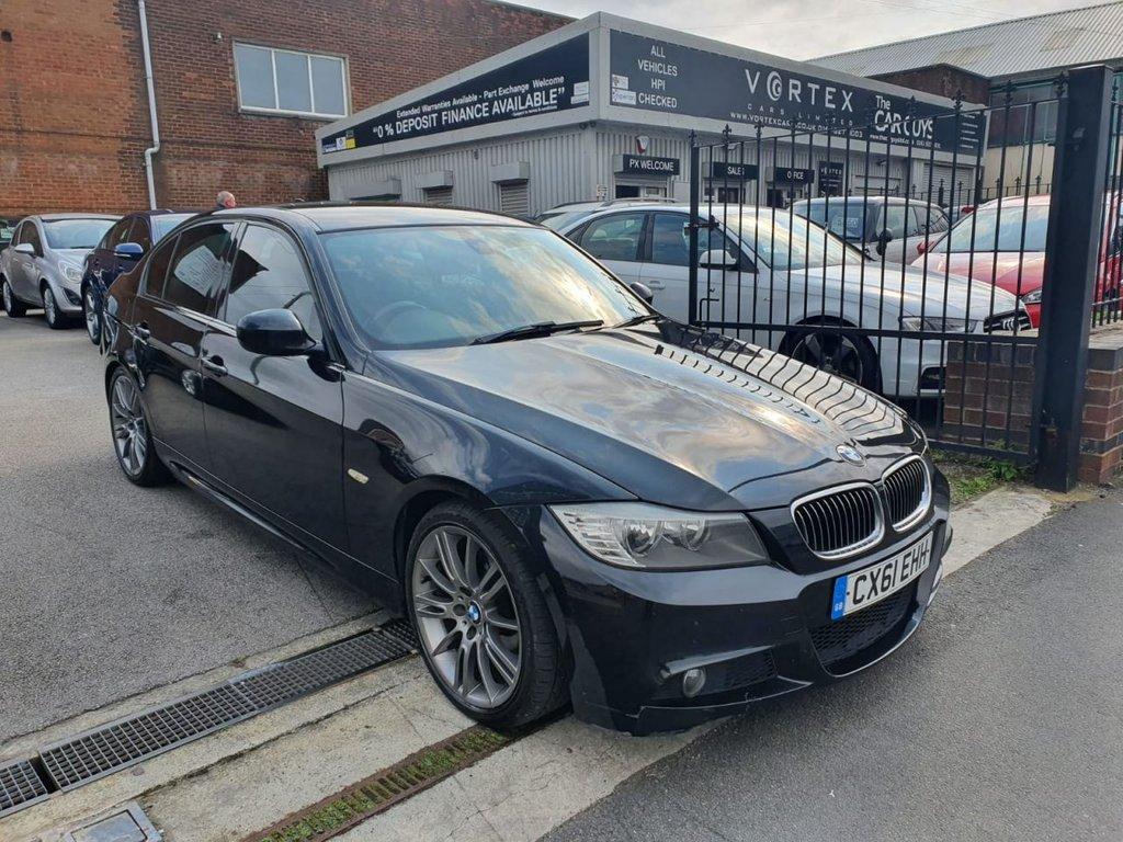 USED 2012 61 BMW 3 SERIES 2.0 320D SPORT PLUS EDITION 4d 181 BHP AUTO + 2 KEYS + GREAT HISTORY