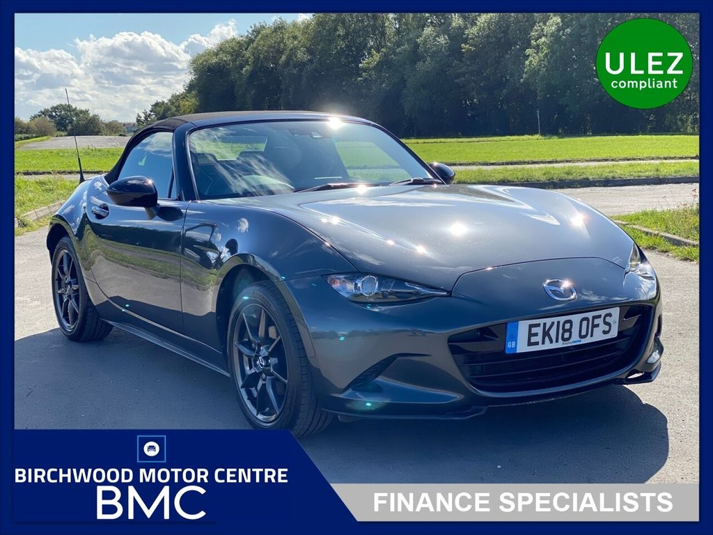 USED 2018 18 MAZDA MX-5 1.5 SPORT NAV 2d 130 BHP, 1 OWNER, FSH, IMMACULATE THROUGHOUT, DRIVES SUPERBLY!