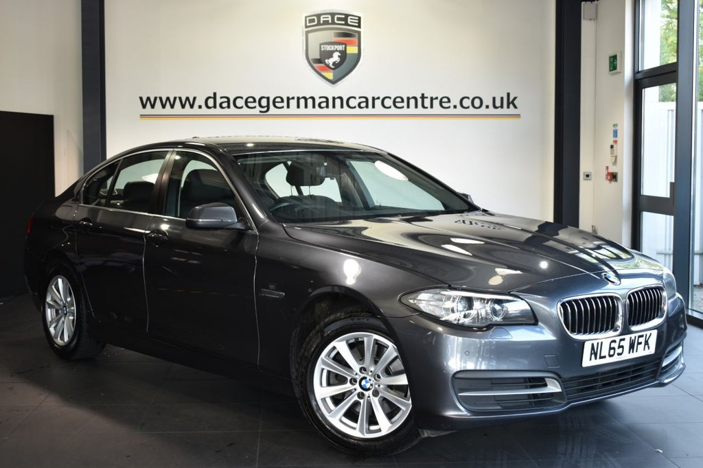 USED 2015 65 BMW 5 SERIES 2.0 520D SE 4DR AUTO 188 BHP