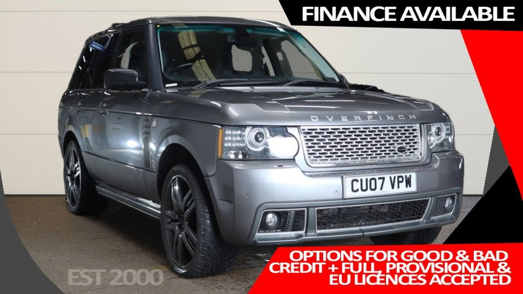 USED 2007 07 LAND ROVER RANGE ROVER 3.6 TDV8 VOGUE 5d 272 BHP * OVERFINCH STYLING * SUNROOF * SAT NAV *
