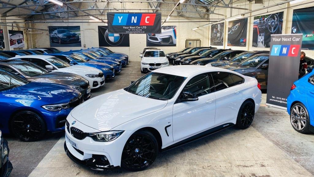 USED 2019 19 BMW 4 SERIES 2.0 420i GPF M Sport Gran Coupe Auto (s/s) 5dr PERFORMANCEKIT+20S+FACELIFT