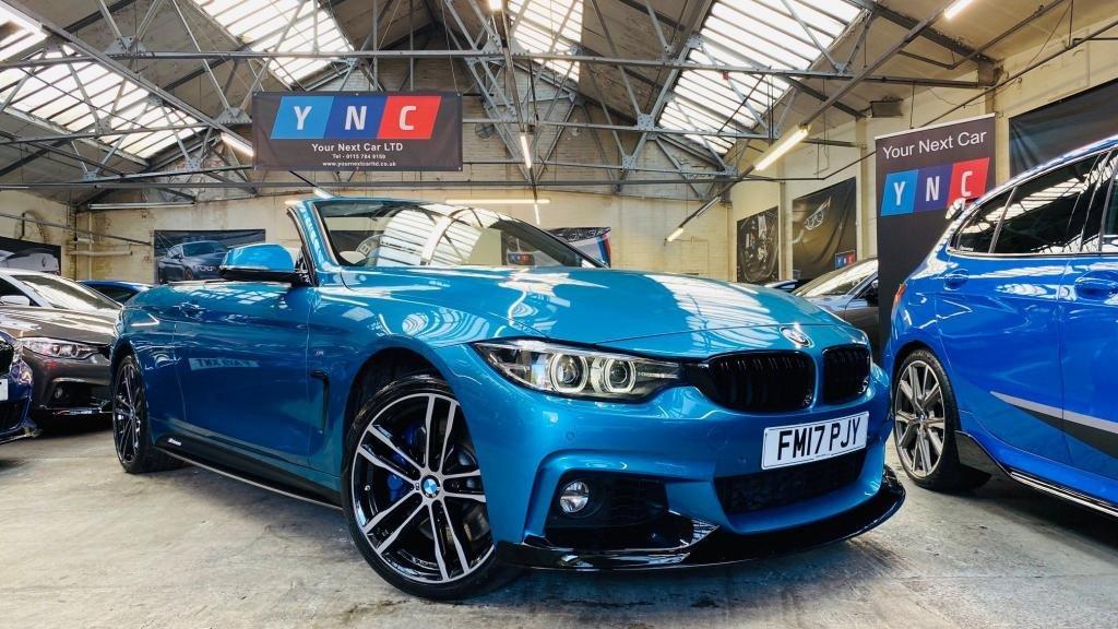 USED 2017 17 BMW 4 SERIES 3.0 435d M Sport Auto xDrive (s/s) 2dr PERFORMANCEKIT+HUGESPEC!+WOW