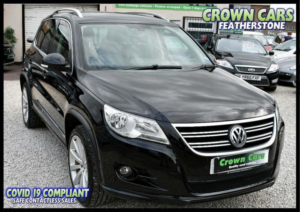 USED 2011 61 VOLKSWAGEN TIGUAN 2.0 TDI R-Line 4MOTION 5dr AMAZING LOW RATE FINANCE DEALS