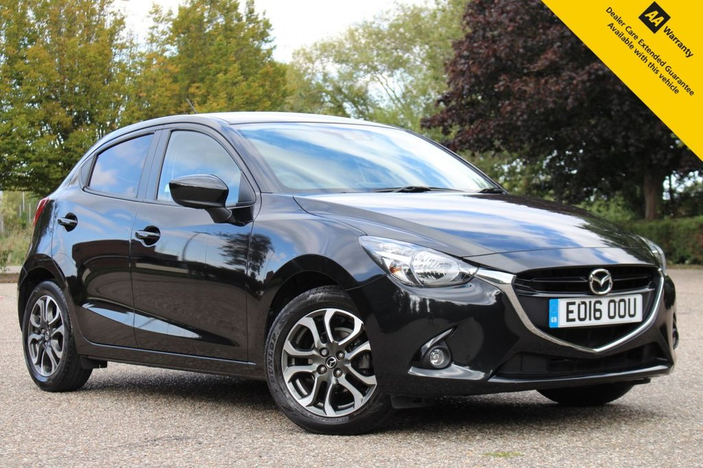 USED 2016 16 MAZDA 2 1.5 SPORT NAV 5d 89 BHP ** 1 OWNER LOW MILEAGE PETROL AUTOMATIC ** FULL MAZDA SERVICE HISTORY ** SAT NAV ** REAR PARKING AID ** LANE ASSIST ** CRUISE CONTROL ** CLIMATE CONTROL ** BLUETOOTH ** ONLY £30 ROAD TAX ** ULEZ CHARGE EXEMPT ** LOW RATE £0 DEPOSIT FINANCE AVAILABLE **