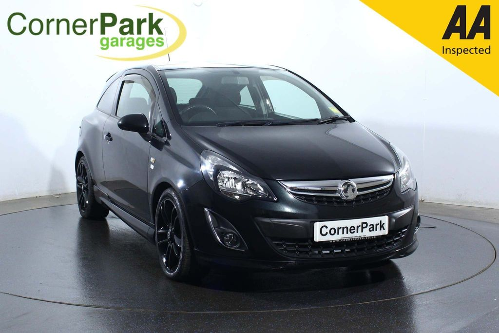 USED 2013 63 VAUXHALL CORSA 1.2 LIMITED EDITION 3d 83 BHP CRUISE CONTROL - ALLOYS - A/C