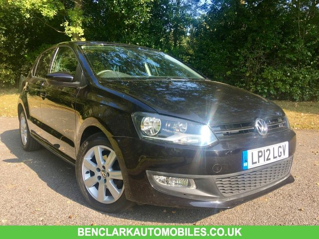 2012 12 VOLKSWAGEN POLO 1.4 MATCH DSG 5d AUTO 83 BHP 38,188 MILES/ VW+1 OWNER/ X6 VW SERVICE STAMPS/CAMBELT RENEWED at 31,000