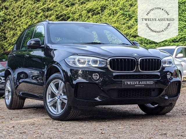 USED 2013 63 BMW X5 3.0 XDRIVE30D M SPORT 5d AUTO 255 BHP (SAT NAV)