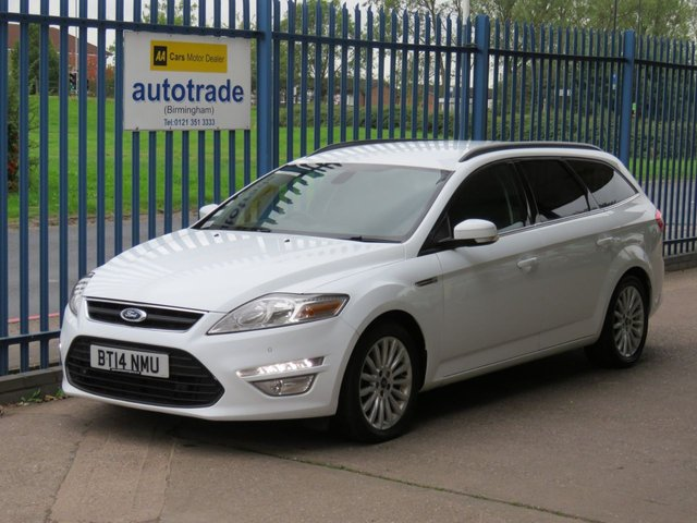 USED 2014 14 FORD MONDEO 1.6 ZETEC BUSINESS EDITION TDCI 5d 114 BHP SAT NAV, FRONT AND REAR SENSORS, TOW BAR HISTORY TOUCHSCREEN SAT NAV, FRONT AND REAR PARKING SENSORS, PRIVACY GLASS, CRUISE CONTROL, BLUETOOTH, WITH VOICE CONTROL AND USB, SERVICE HISTORY