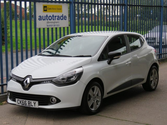 USED 2016 66 RENAULT CLIO 1.5 PLAY DCI 5d 89 BHP Bluetooth, Cruise Control, USB and Aux In