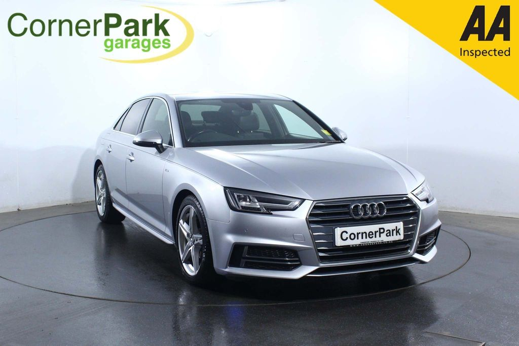 USED 2016 66 AUDI A4 2.0 TDI S LINE 4d 188 BHP AIR CONDITIONING - LEATHER