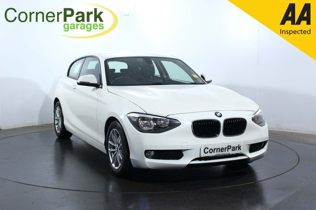 USED 2014 64 BMW 1 SERIES 1.6 116D EFFICIENTDYNAMICS 3d 114 BHP