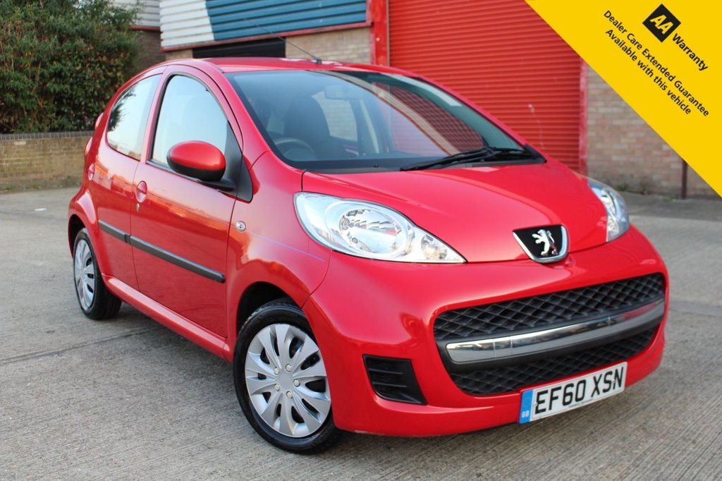 USED 2011 60 PEUGEOT 107 1.0 URBAN 5d 68 BHP ** BRAND NEW ADVISORY FREE MOT & SERVICE ** ONLY £20 ROAD TAX ** IDEAL FIRST CAR ** LOW INSURANCE COSTS ** LOW RATE £0 DEPOSIT FINANCE AVAILABLE ** NATIONWIDE DELIVERY AVAILABLE ** CLICK & COLLECT AVAILABLE **