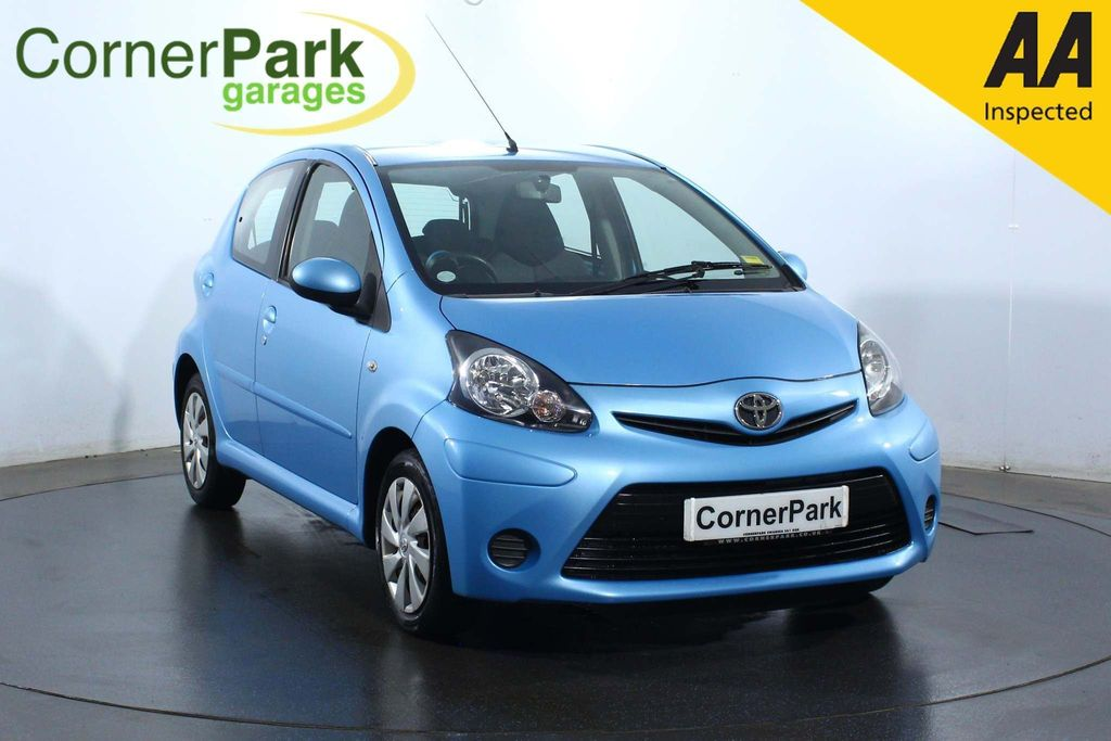 USED 2014 14 TOYOTA AYGO 1.0 VVT-I MOVE 5d 68 BHP AIR CONDITIONING - REAR CAMERA