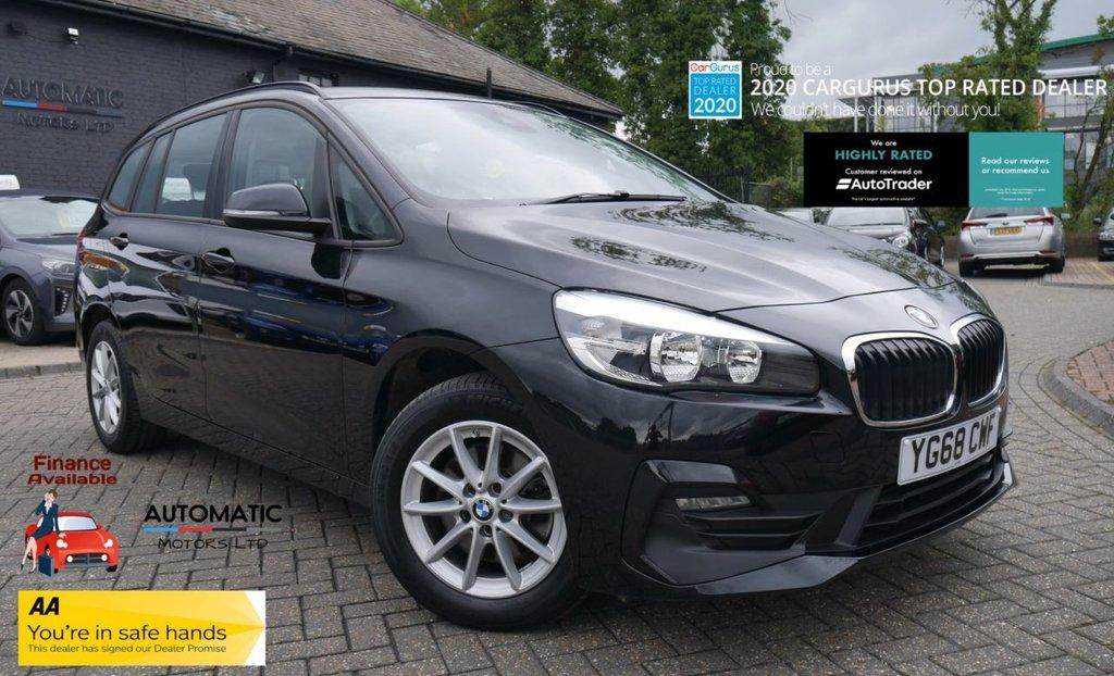 USED 2018 68 BMW 2 SERIES 1.5 218I SE GRAN TOURER 5d 139 BHP 2018 BMW 2 SERIES 1.5 218I SE GRAN TOURER  1 OWNER ULEZ 7 SEATS SAT NAV BLUETOOTH