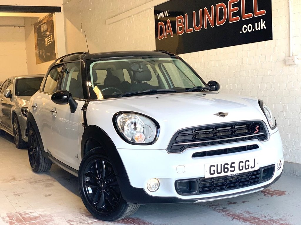USED 2015 65 MINI COUNTRYMAN 2.0 COOPER SD ALL4 5d 141 BHP 1 OWNER+FSH+BLACK ALLOYS+DAB