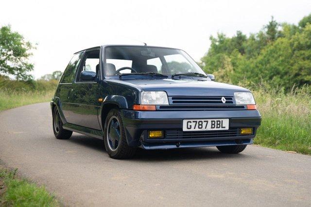 1990 G RENAULT 5 1.4 RAID TURBO 3d 120 BHP