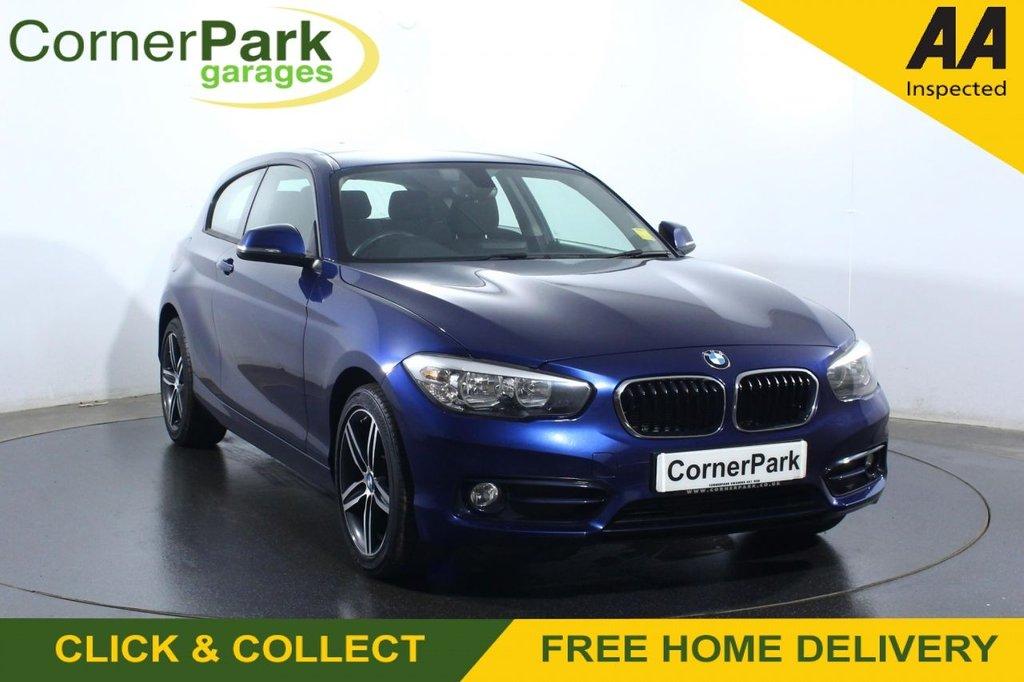 USED 2017 17 BMW 1 SERIES 1.5 118I SPORT 3d 134 BHP
