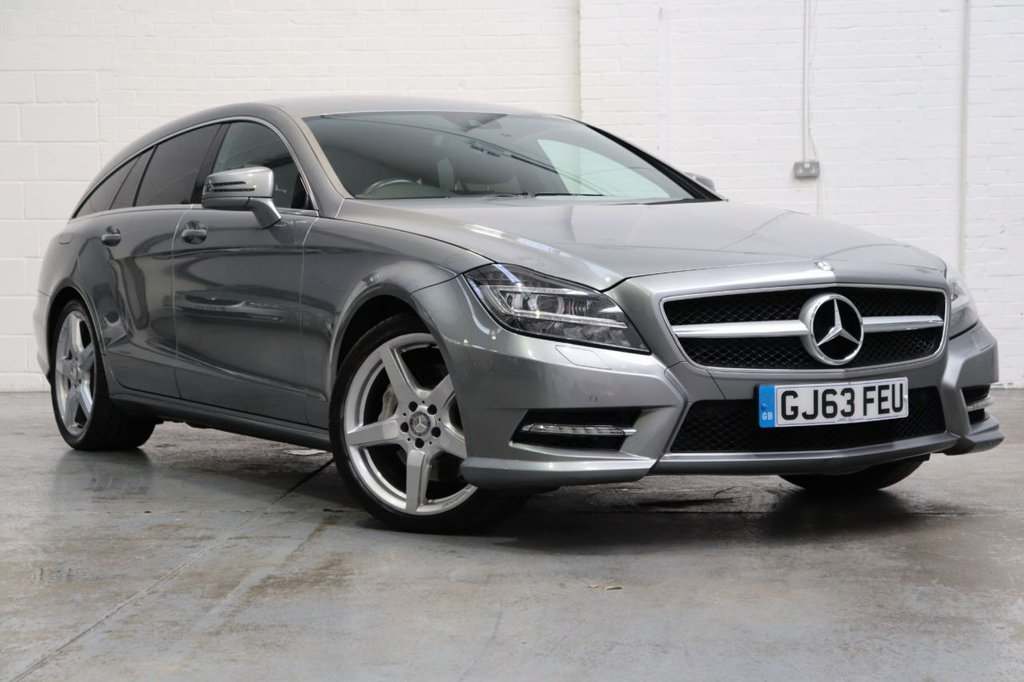 USED 2013 63 MERCEDES-BENZ CLS CLASS 3.0 CLS350 CDI BLUEEFFICIENCY AMG SPORT 5d 262 BHP Satnav +Leather +Cruise + Dab