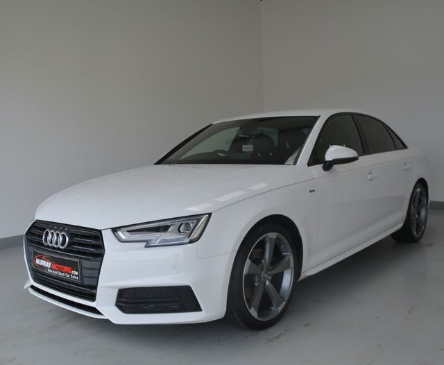 USED 2017 AUDI A4 2.0 TDI ULTRA S LINE 150ps *BLACK EDITION STYLING*