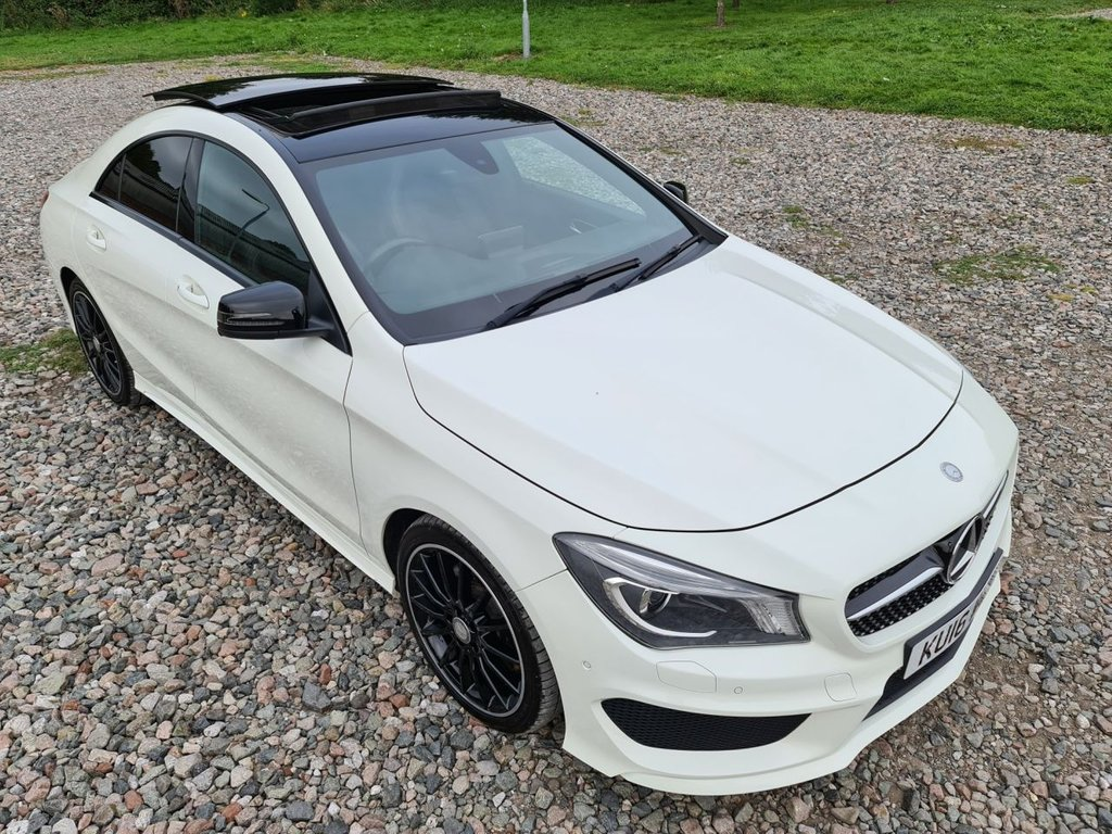 USED 2016 16 MERCEDES-BENZ CLA 2.1 CLA 220 D AMG LINE 4d 174 BHP