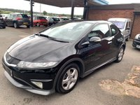 2009 HONDA CIVIC 1.3 I-VTEC TYPE S I-SHIFT 3d AUTO 98 BHP £5190.00