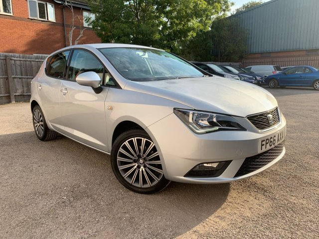 USED 2016 66 SEAT IBIZA 1.0 SE TECHNOLOGY 5d 74 BHP SAT NAV, BLUETOOTH, FULL SEAT SERVICE HISTORY
