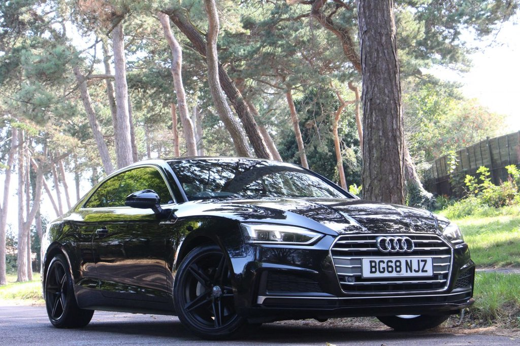 USED 2018 68 AUDI A5 2.0 TDI ULTRA S LINE COUPE 190 BHP
