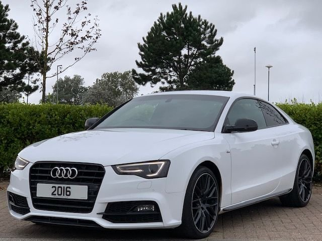 USED 2016 J AUDI A5 2.0 TDI BLACK EDITION PLUS 3d 187 BHP