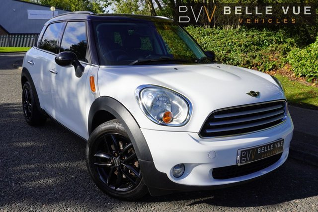 USED 2011 61 MINI COUNTRYMAN 1.6 COOPER D ALL4 5d 112 BHP *ONLY 63K MILES, FULL LEATHER, CRUISE CONTROL, DAB, PARKING SENSORS!*