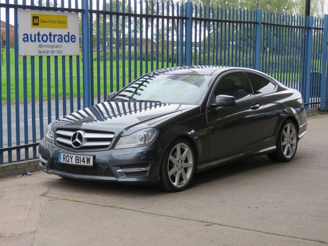 USED 2012 MERCEDES-BENZ C-CLASS 2.1 C220 CDI BLUEEFFICIENCY AMG SPORT 2d 170 BHP Panoramic sunroof,Automatic,SatNav