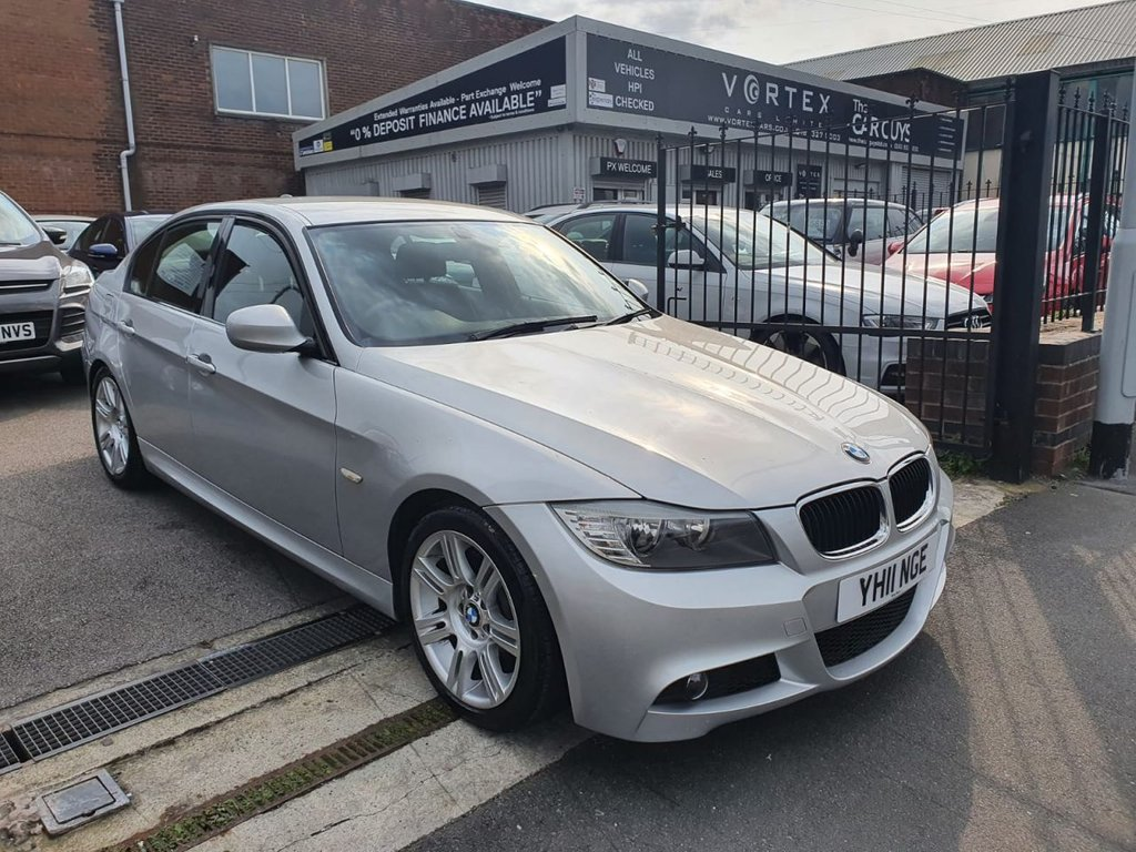 USED 2011 11 BMW 3 SERIES 2.0 318D M SPORT 4d 141 BHP FULL MAIN DEALER HISTORY!
