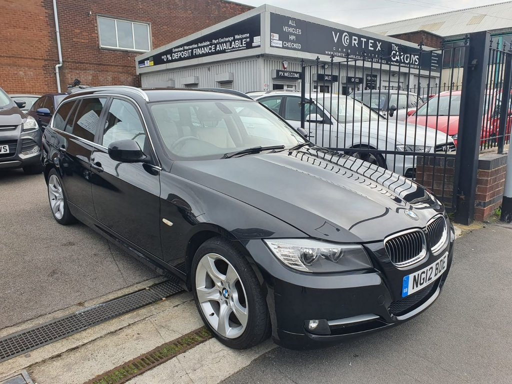 USED 2012 12 BMW 3 SERIES 2.0 320D EXCLUSIVE EDITION TOURING 5d 181 BHP GREAT HISTORY + FULL LEATHER