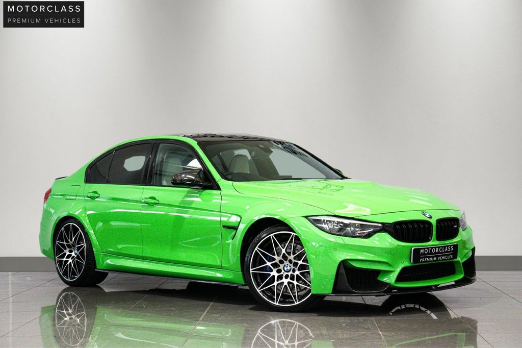 USED 2018 15 BMW M3 3.0 M3 COMPETITION PACKAGE 4d 444 BHP