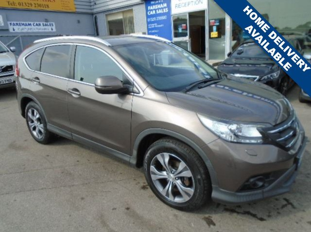 USED 2014 14 HONDA CR-V 2.0 I-VTEC SR 5d AUTO 153 BHP STUNNING CONDITION AND DRIVE