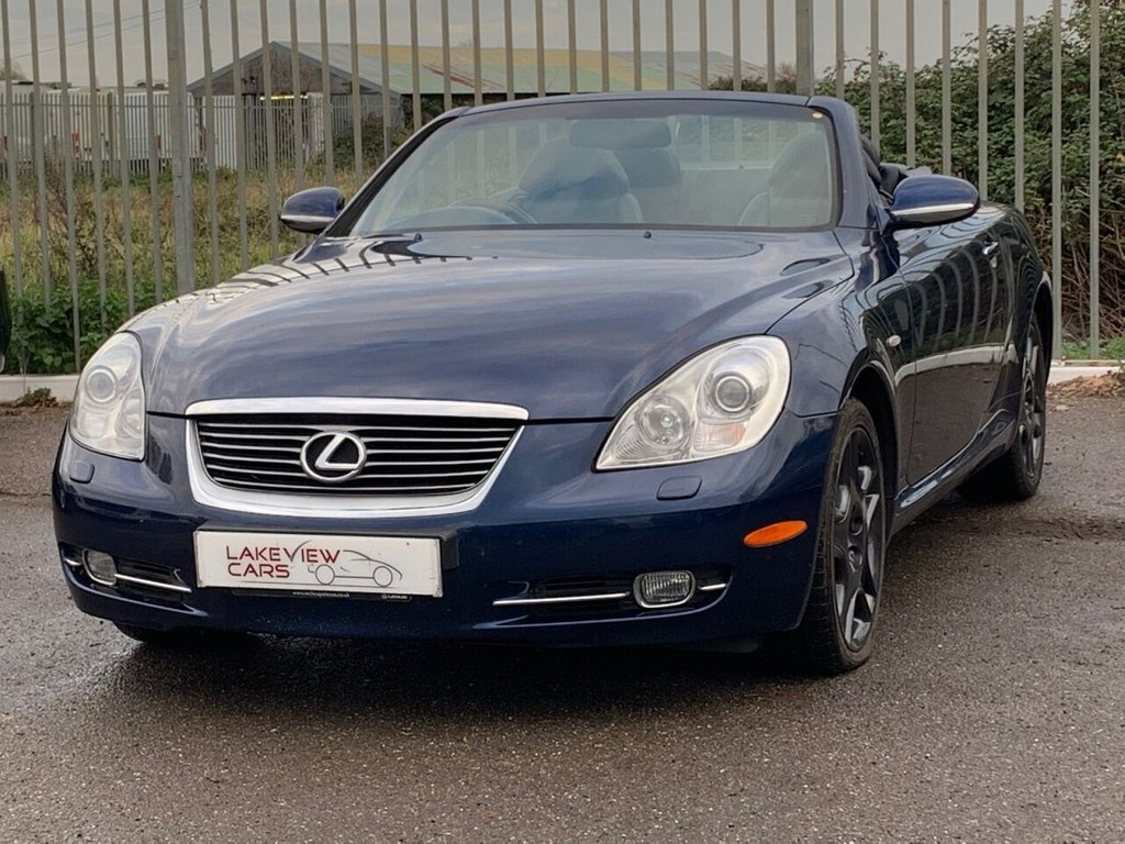 USED 2006 06 LEXUS SC 4.3 430 2d 282 BHP
