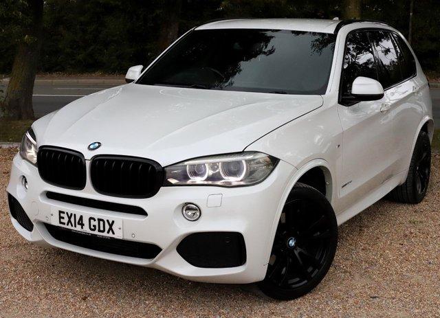 2014 14 BMW X5 3.0 XDRIVE40D M SPORT 5d 309 BHP AUTOMATIC