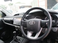 USED 2016 66 TOYOTA HI-LUX 2.4 ACTIVE 4WD D-4D Double Cab 5d 150 BHP 2016 66 4x4 pickup toyota hilux active crew cab