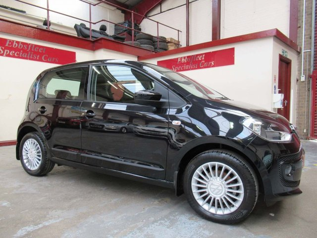 USED 2016 66 VOLKSWAGEN UP 1.0 High up! 5dr ***18000 MILES S/HISTORY***