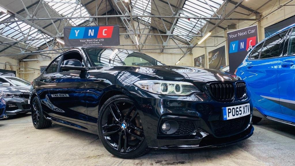USED 2015 65 BMW 2 SERIES 2.0 220d M Sport (s/s) 2dr PERFORMANCEKIT+XENONS+HTDLTHR
