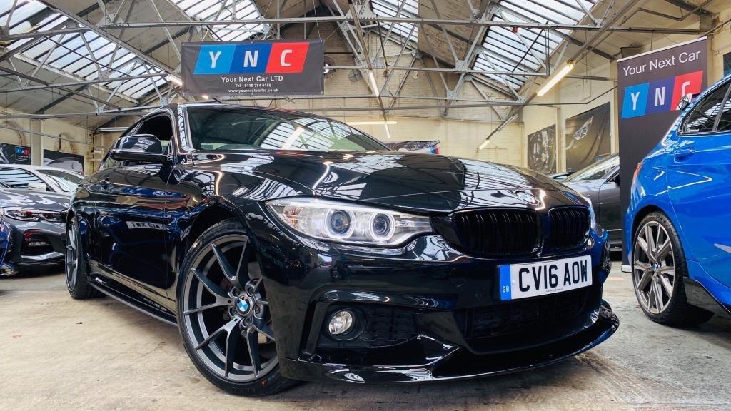 USED 2016 16 BMW 4 SERIES 2.0 420d M Sport 2dr PERFORMANCEKIT+CS19S+HTDLTHR
