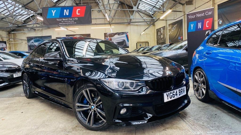 USED 2014 64 BMW 4 SERIES 3.0 435d M Sport Gran Coupe xDrive 4dr PERFORMANCEKIT+SUNROOF+PLUSPAK