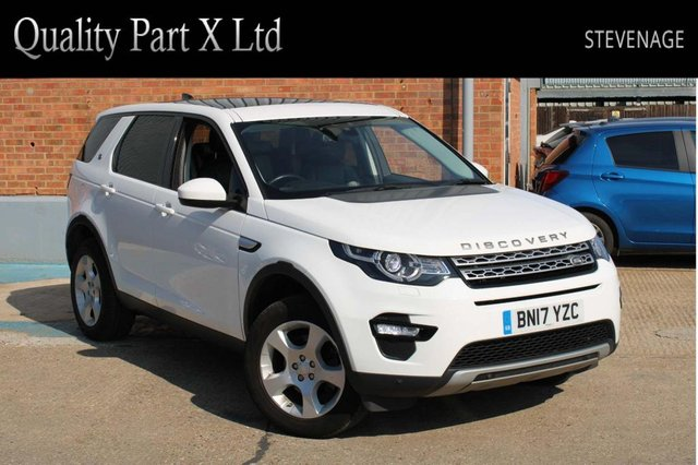 USED 2017 17 LAND ROVER DISCOVERY SPORT 2.0 TD4 HSE 4WD (s/s) 5dr SATNAV,BLUETOOTH,XENON,CAMERA