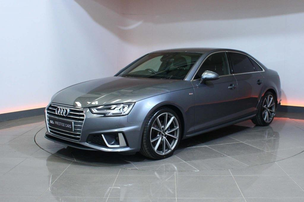 USED 2019 69 AUDI A4 2.0 TFSI 40 S line S Tronic (s/s) 4dr NAVIGATION - LED LIGHT PACK
