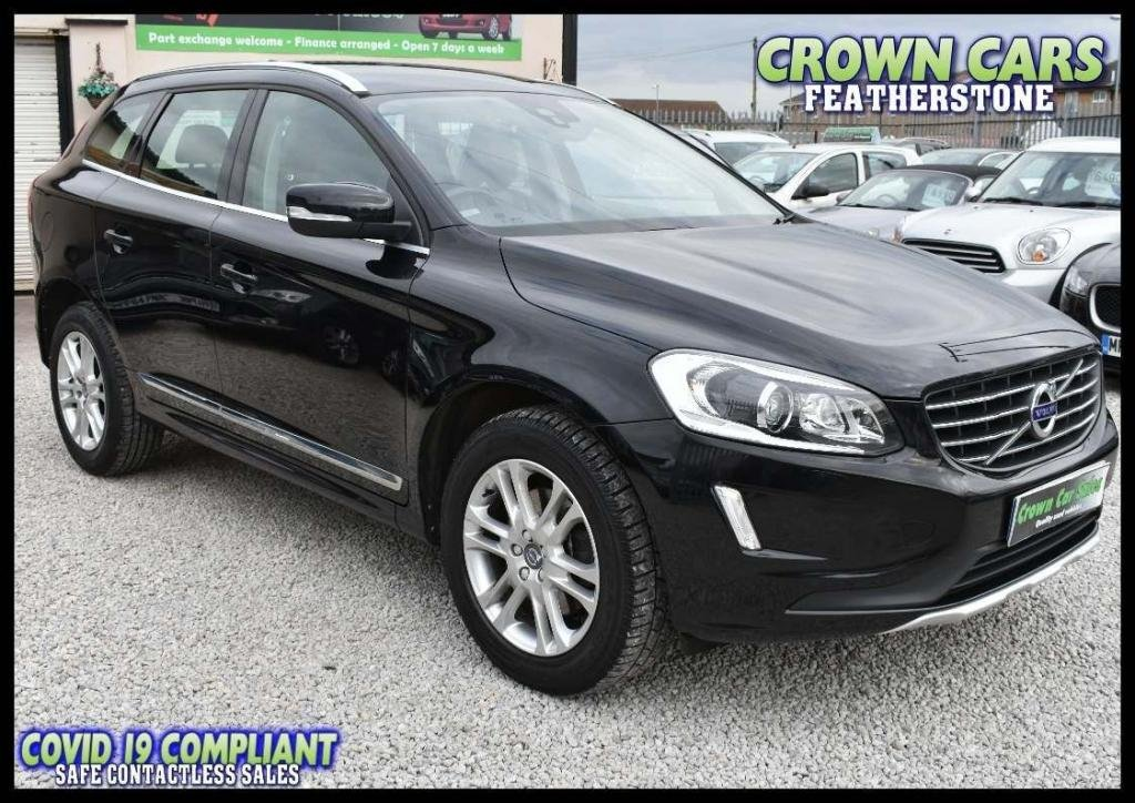 USED 2015 15 VOLVO XC60 2.0 D4 SE Lux Nav Geartronic (s/s) 5dr AMAZING LOW RATE FINANCE DEALS