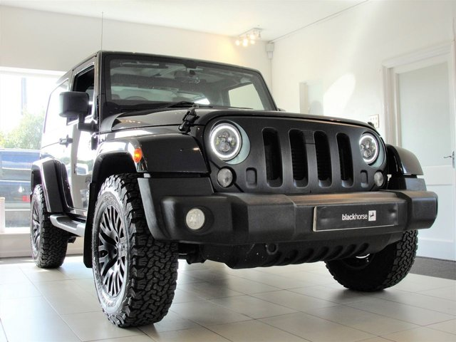 2015 15 JEEP WRANGLER 2.8 KAHN EDITION CRD 2d 197 BHP...RESERVED FOR JANINE.