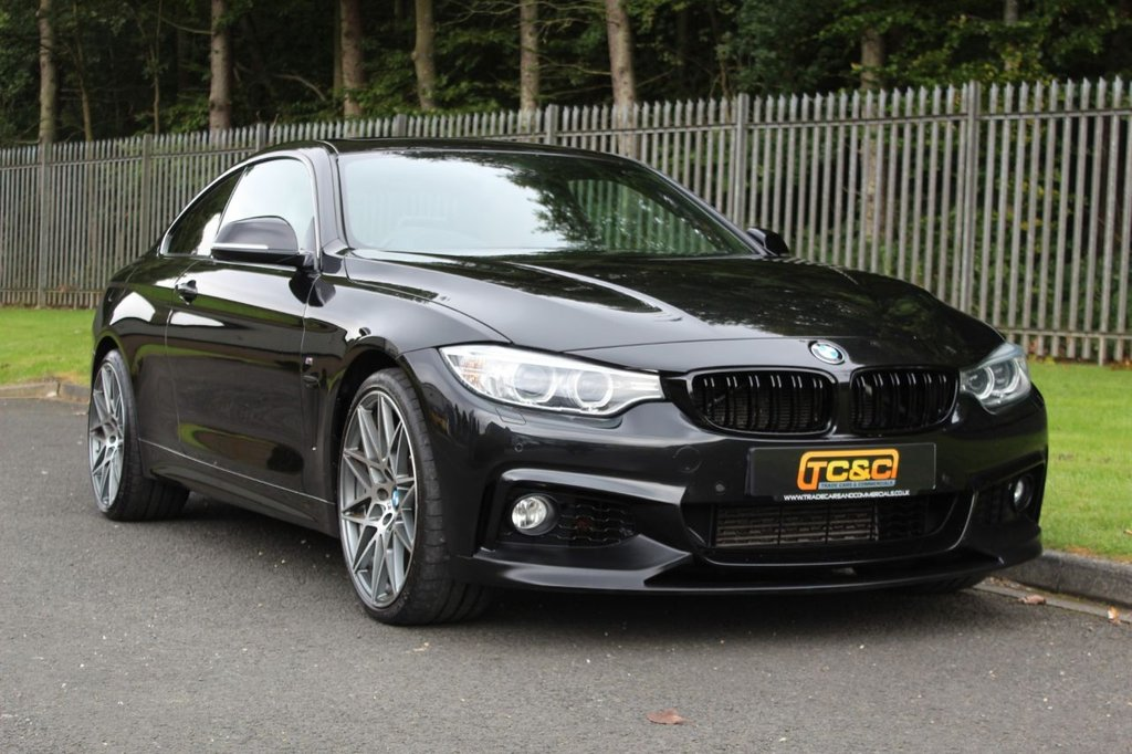 USED 2015 15 BMW 4 SERIES 3.0 435D XDRIVE M SPORT 2d 309 BHP A HIGH SPEC 435D WITH M-PERFORMANCE STYLING, HUD, 20 INCH ALLOYS, SUNROOF AND LOADS MORE!!!