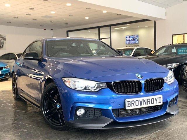 USED 2014 14 BMW 4 SERIES 2.0 420I M SPORT 2d 181 BHP BM PERFORMANCE STYLING+6.9%APR