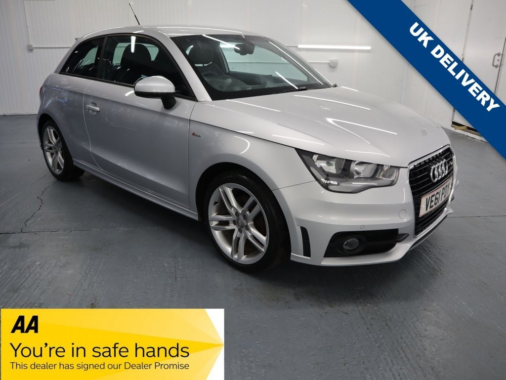 USED 2011 61 AUDI A1 1.4 TFSI S LINE 3d 122 BHP THE S LINE EDITION AUDI HATCH WITH DEALERSHIP SERVICE HISTORY